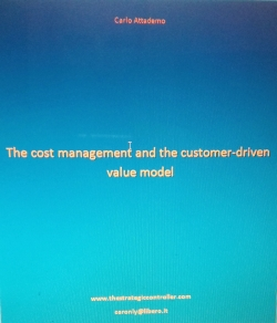 The cost management and the customer-driven value model